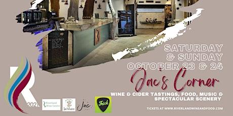 Jac's Corner at Riverland Wine Centre tickets