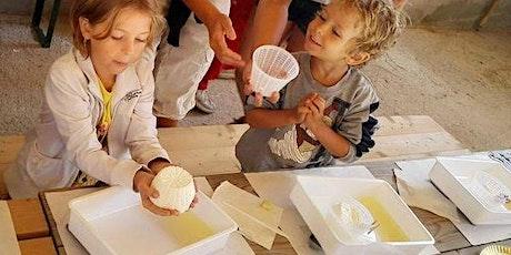 Come fare il formaggio. Workshop per bambini biglietti