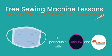 Free Sewing Machine Lessons (How To Make  A Face Mask) tickets