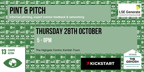 Pint & Pitch - 'Climate Action' in The GenDen tickets