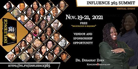 Influence 365 Summit tickets