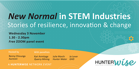 'New Normal' in STEM Industries: Stories of resilience, innovation & change tickets