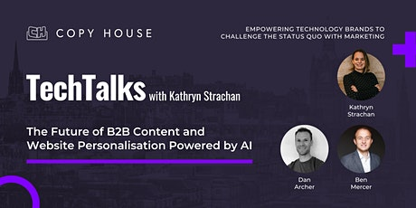 The Future of B2B Content and Website Personalisation Powered by AI tickets