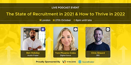 LIVE Podcast | The state of Recruitment in 2021 and how to thrive in 2022 tickets