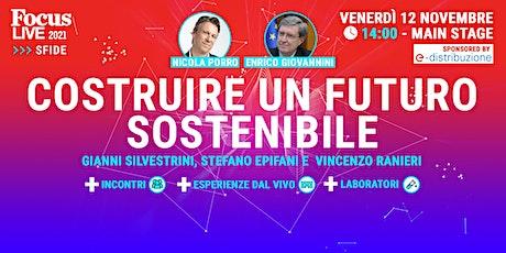 Costruire un futuro sostenibile biglietti