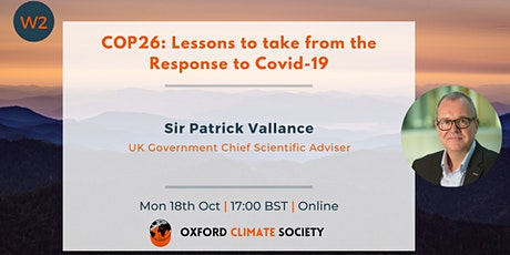 COP26: Lessons to take from the Response to Covid-19 tickets