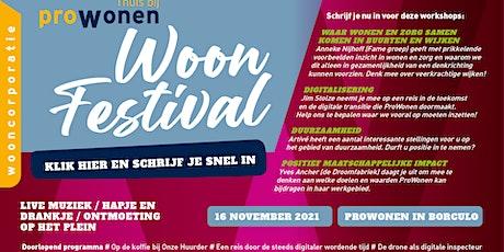 ProWonen Woonfestival tickets