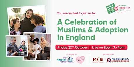 A Celebration of Muslims and Adoption In England. tickets