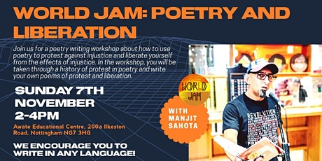 World Jam: Poetry and Liberation tickets