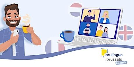 Café-langues virtuel - Intermédiaire/avancé (FR) tickets
