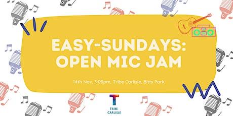 Easy-Sunday's: Open Mic jam tickets