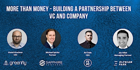 More than Money - building a partnership between VC and company tickets