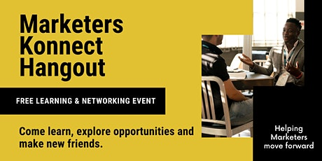 Marketers Connect hangout tickets