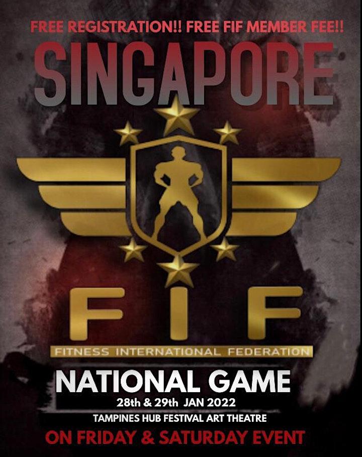 FIF SINGAPORE NATIONAL  2022 image