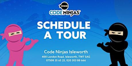Code Ninjas Taster session tickets