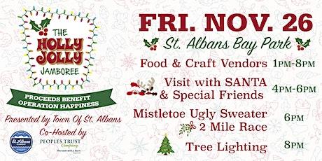 Holly Jolly Jamboree\Tree Lighting and Mistletoe 2 Mile Festive Race tickets