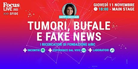 Geppi Cucciari: tumori, bufale e fake news biglietti