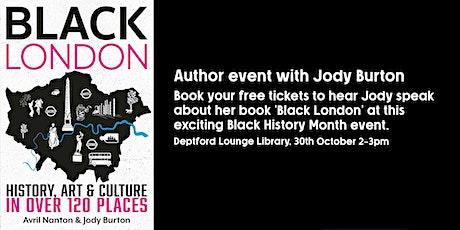 Author talk about 'Black London' with Jody Burton tickets