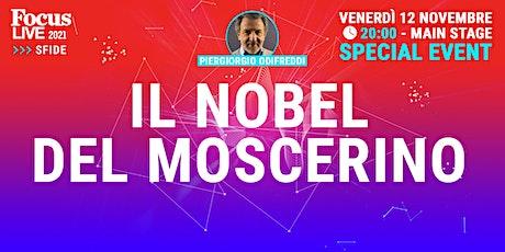Piergiorgio Odifreddi: il Nobel del moscerino biglietti