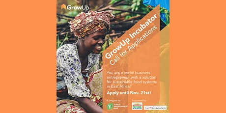 GrowUp Incubator: Sustainable Food Systems: Info session tickets