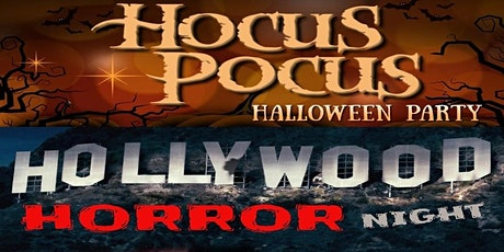 Hocus Pocus Halloween Party (2pm) & Hollywood Horror Night (8pm) tickets
