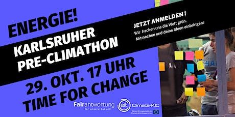 Pre-Climathon Karlsruhe: Deine Ideen! tickets