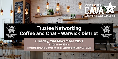 Trustee Networking Coffee and Chat – Warwick District tickets