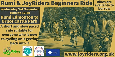 Beginners Ride  Rumiؒ  Mosque  Enfield to Bruce Castle Park tickets