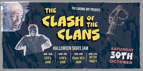 The Clash of the Clans : Halloween Skate Jam tickets
