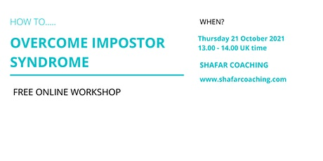 Free online workshop: How to Overcome Impostor Syndrome tickets