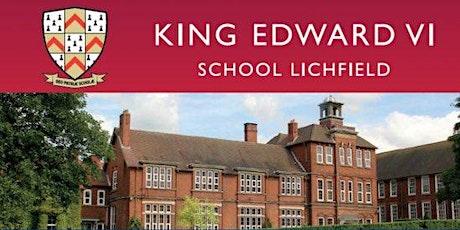 King Edward VI School Sixth Form Open Evening tickets