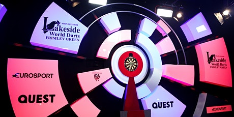 Lakeside WDF World Darts  - 2 sessions Wednesday 5th  plus accommodation tickets