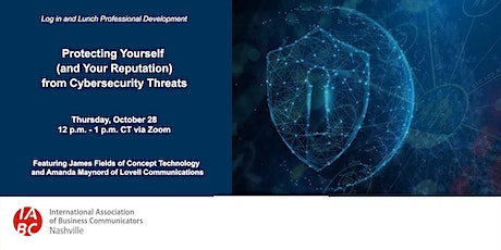 Protecting Yourself (and Your Reputation) from Cybersecurity Threats tickets