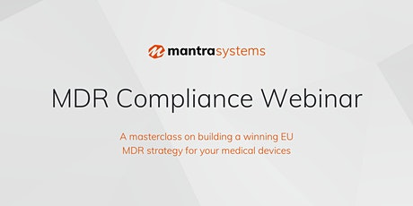 MDR Compliance Webinar tickets