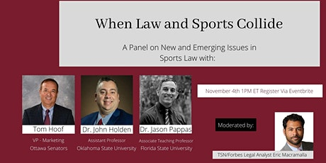 When Law and Sports Collide: A Panel Discussion tickets