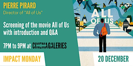 All of us: taking part in a world open to others (movie screening) entradas