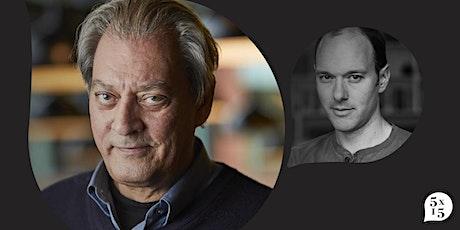 5x15 presents: Paul Auster in conversation with Alex Preston tickets
