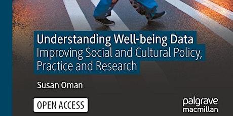 Book launch: Understanding Well-being Data tickets