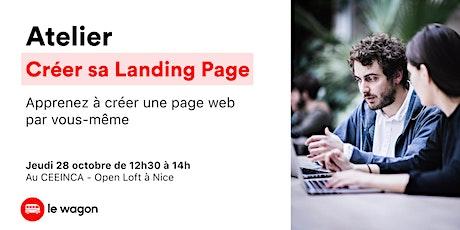 Atelier Développement Web - Créer sa Landing Page billets