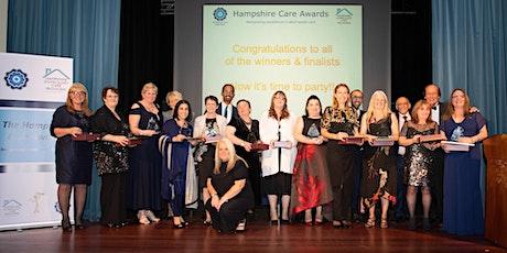 Hampshire Care Association Care   Awards  Sponsorship tickets