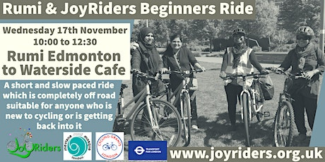 Beginners Ride  Rumiؒ  Mosque  Enfield to Waterside Cafe tickets