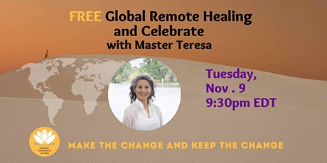 25th Global Remote Healing [FREE] tickets
