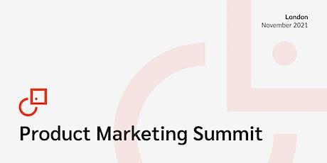 Product Marketing Summit London tickets