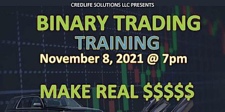 PO Binary Trading Training tickets