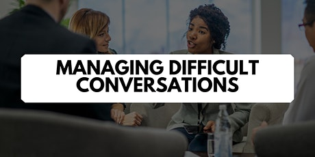 Managing Difficult Conversations Master Class tickets