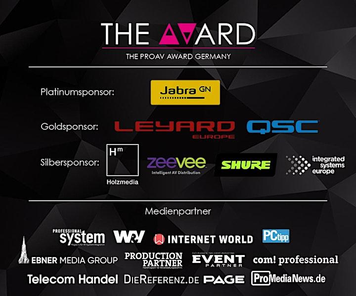 The AVard 2021 - Preisverleihung mit Galadinner: Bild