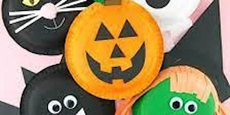 October Half Term: Halloween Crafts (age 5-12yrs) tickets