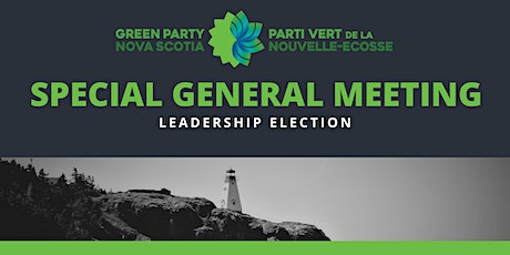 Special General Meeting and Leadership Election tickets