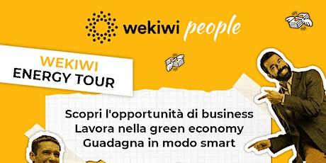 Wekiwi Energy Tour - Torino biglietti