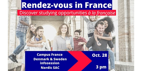 Webinar : Rendez-vous in France: Studying opportunities in France tickets